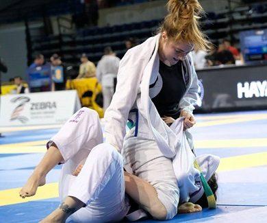 Alison Stiegler jiu jitsu