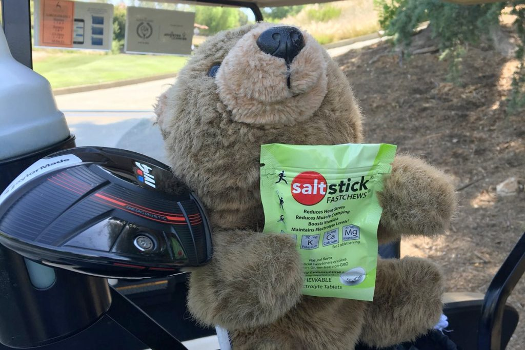 golf and electrolytes